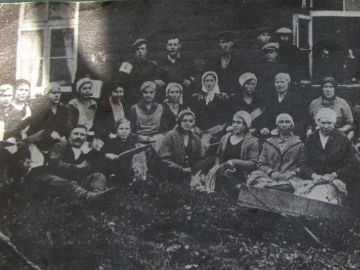 Linatalgud Otsa talus 1934