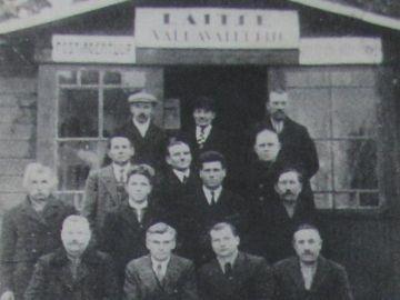 Laitse vallavalitsus 1933 aastal.