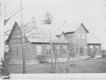 Laitse Algkooli hoone. Foto: Einar Alliksaar erakogu