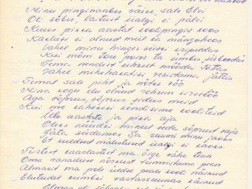 Munalaskme Algkooli õpilaste kokkutulek 2. august 1980a. Foto: Einar Alliksaar erakogu