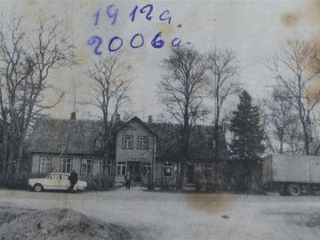 1991: endine Laitse algkool, nüüd kauplus