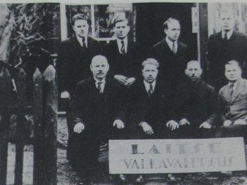 Laitse Vallavalitsus 1938 (Laitse vald liidetakse Nissi vallaga)